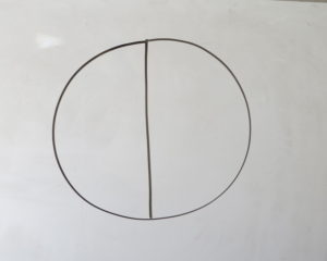 circle for 2 numbers of letters in words