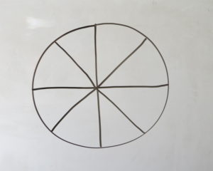 circle for 8 numbers of letters in words