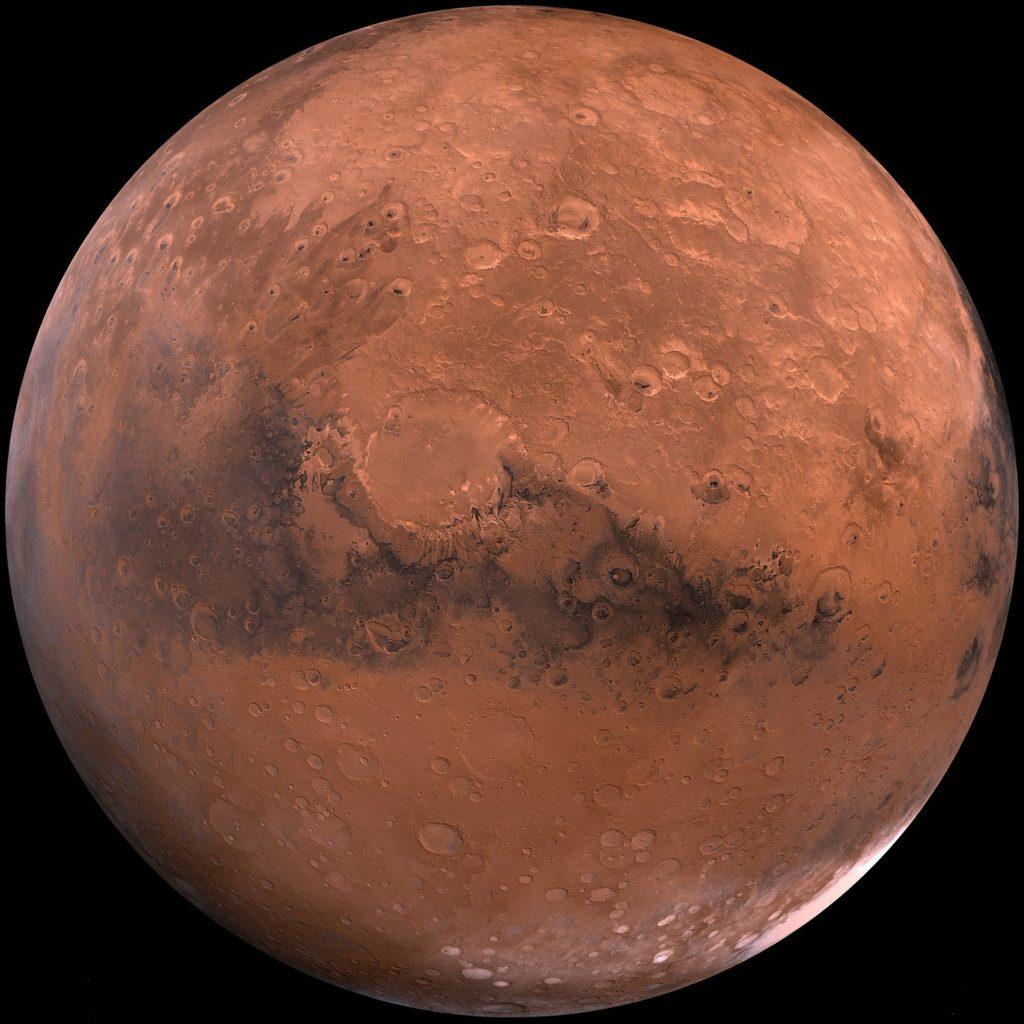 Haiku poem about Mars